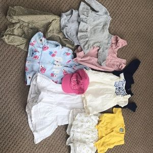 Baby GAP girls lot of 3-6 months